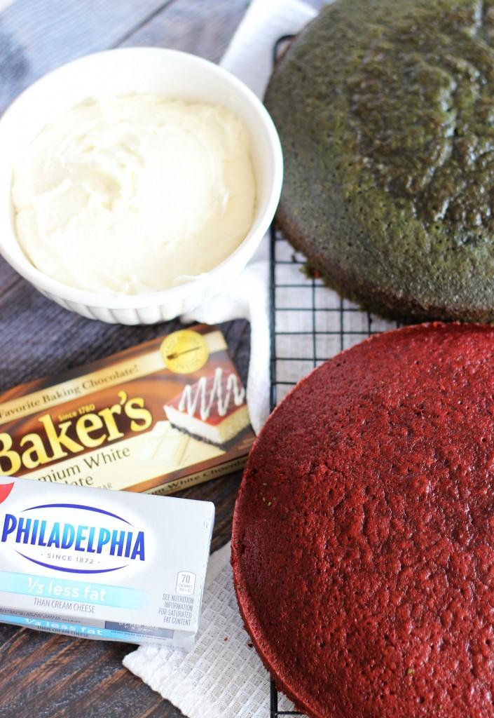 red velvet and green velvet cake truffles 6