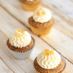 Sweet Potato Cupcakes with Amaretto Orange Frosting
