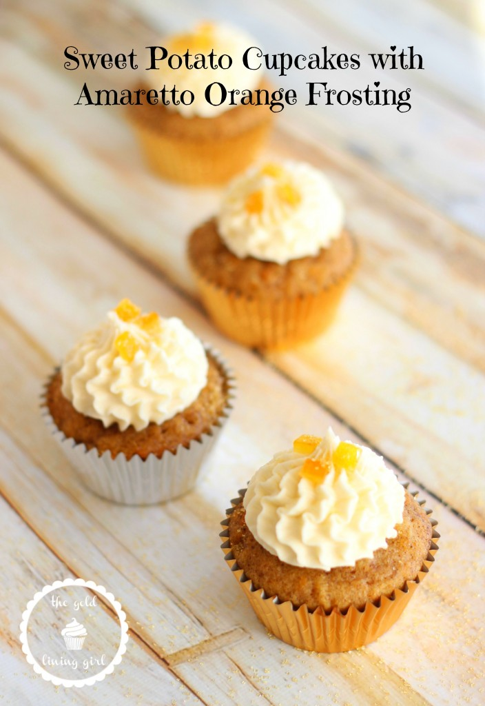 sweet potato cupcakes with amaretto orange frosting 17 pin