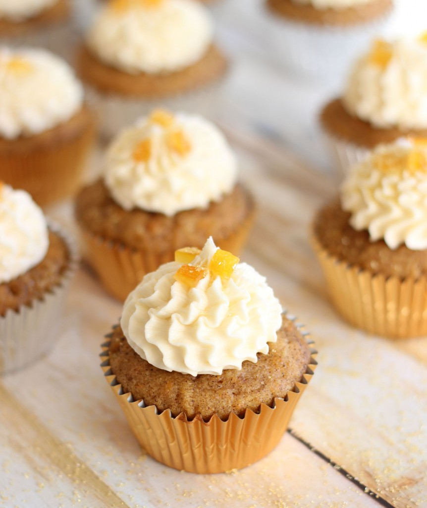 sweet potato cupcakes with amaretto orange frosting 19