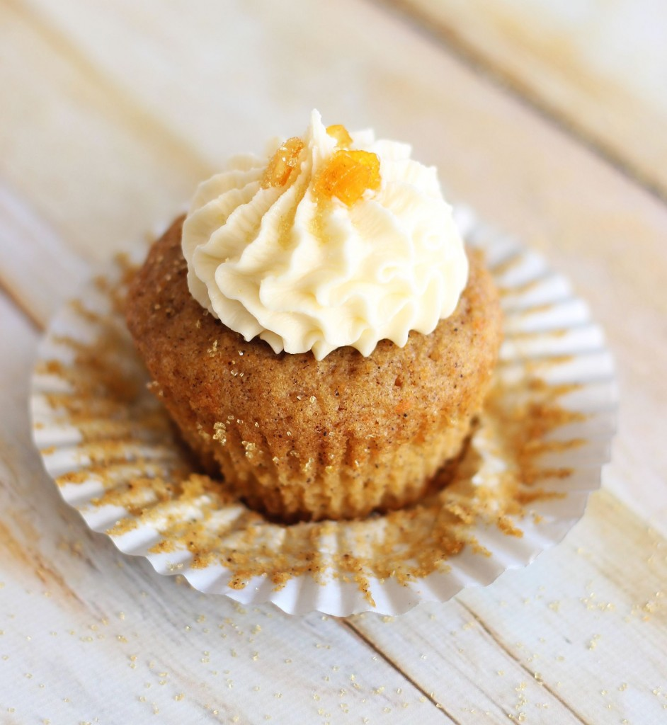 sweet potato cupcakes with amaretto orange frosting 25