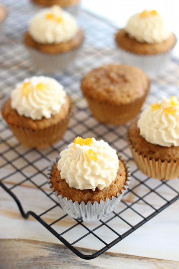 sweet potato cupcakes with amaretto orange frosting 6