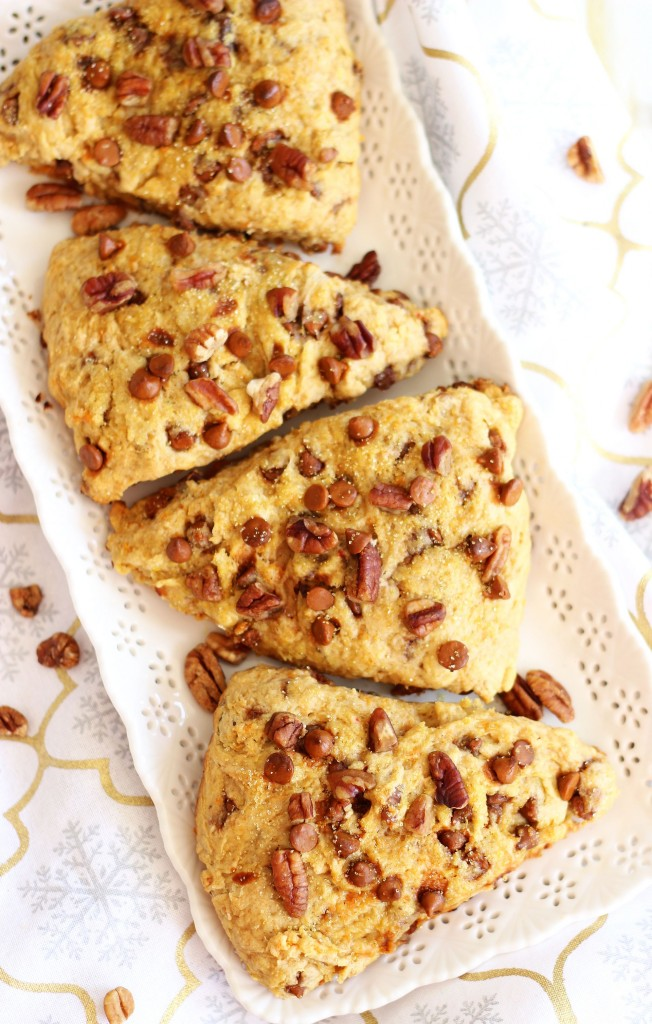 sweet potato pecan pie cinnamon chip scones 7