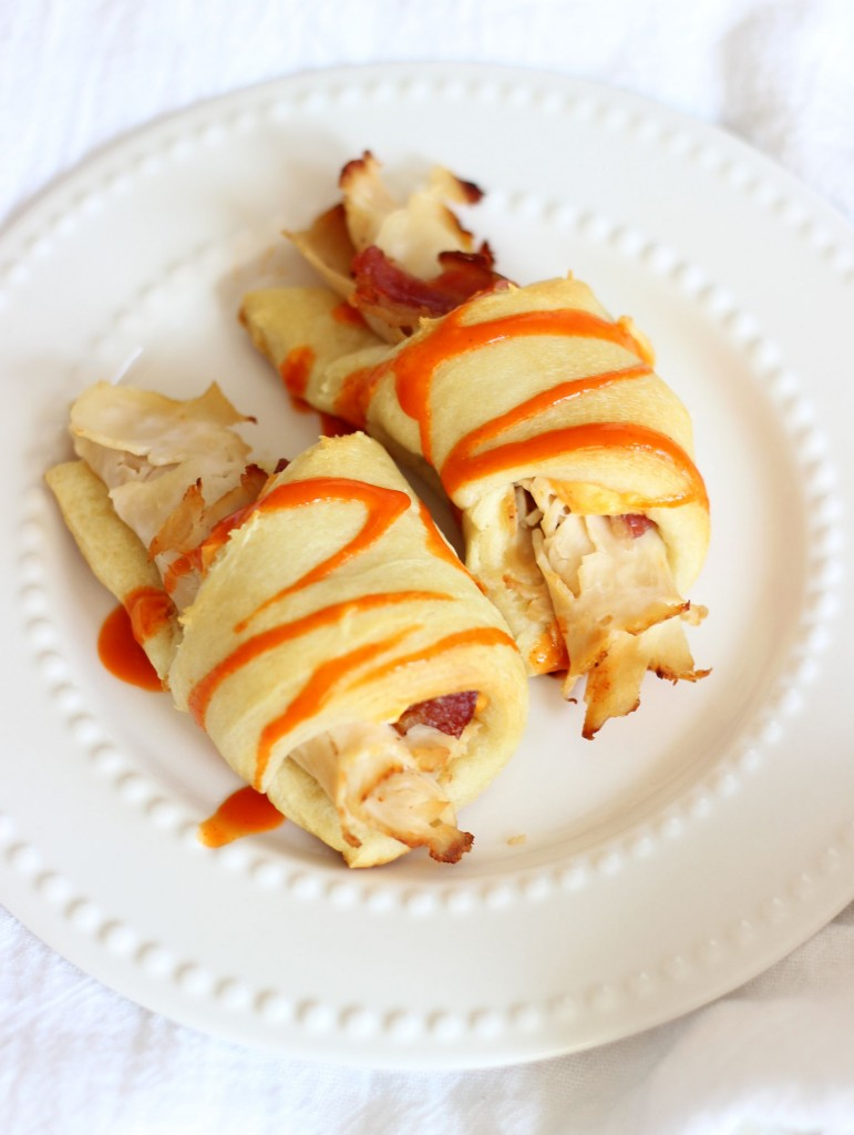 Buffalo Chicken Bacon Ranch Cream Cheese Croissants 12