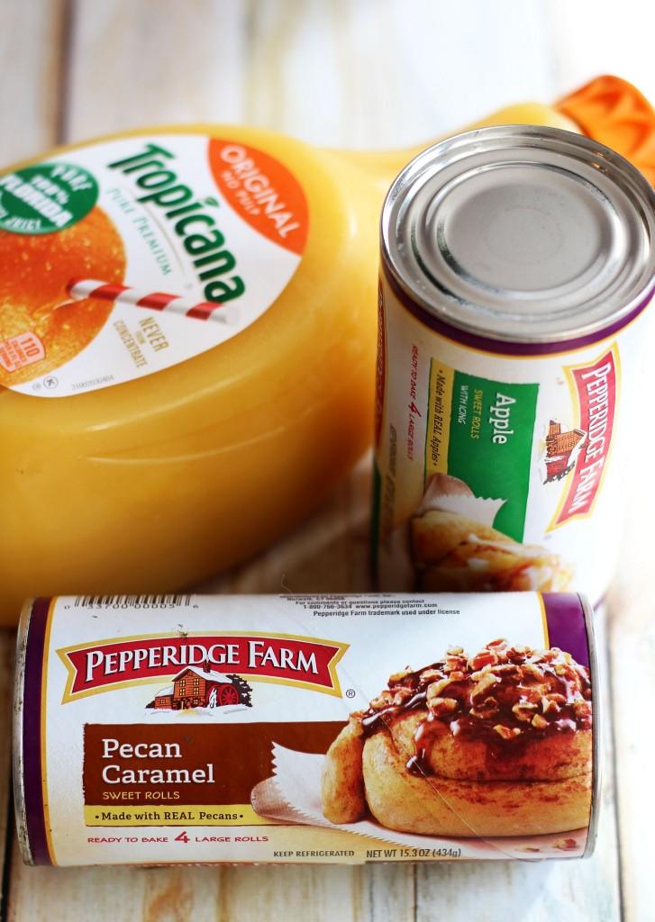 cinnamon roll greek yogurt orange pomegranate breakfast parfaits 1