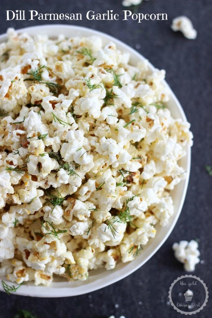 dill garlic parmesan popcorn 4 pin