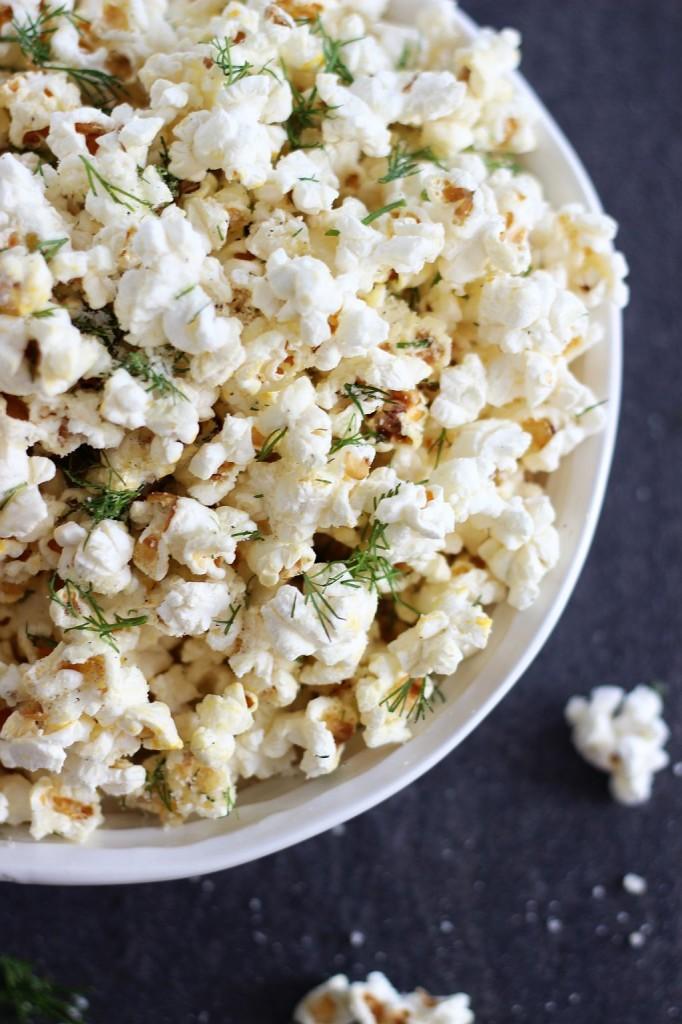 dill garlic parmesan popcorn 5