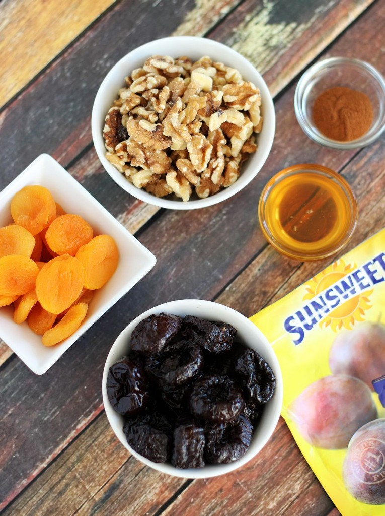 prune apricot and walnut energy bites 1