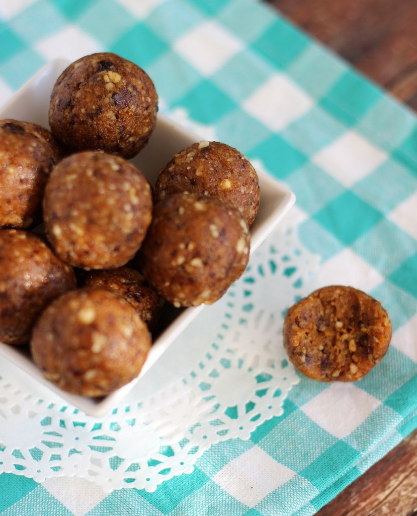 prune apricot and walnut energy bites 13