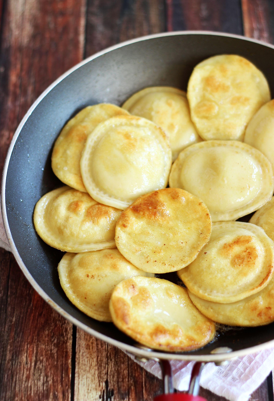 Pierogi With Potato, Cheese, Bacon, And Peas Filling Recipes ...