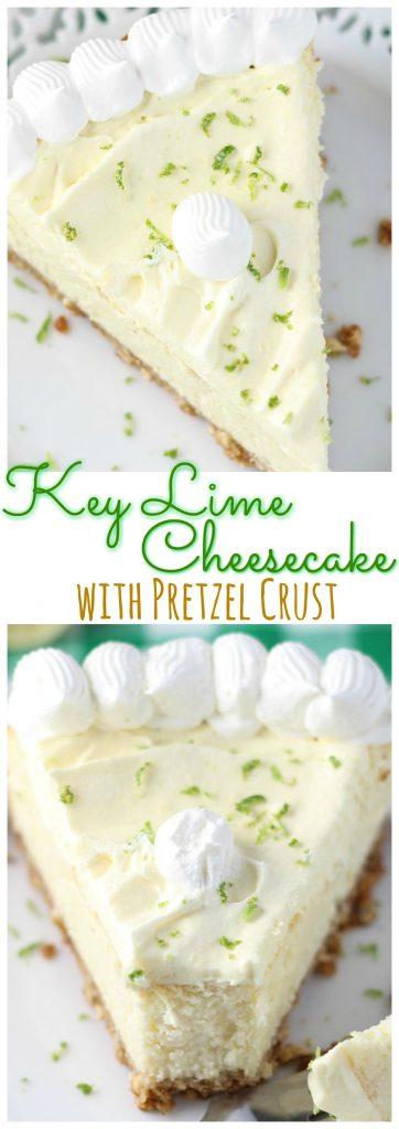 Key Lime Cheesecake pin 1