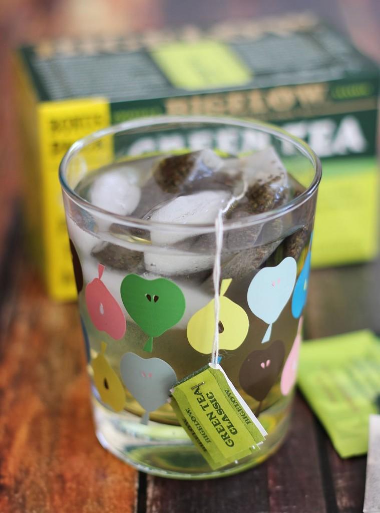 black cherry green tea smoothie 3