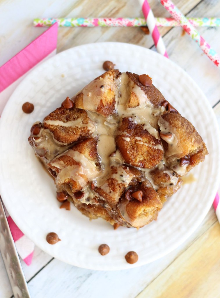 coffee and donuts bread pudding 15