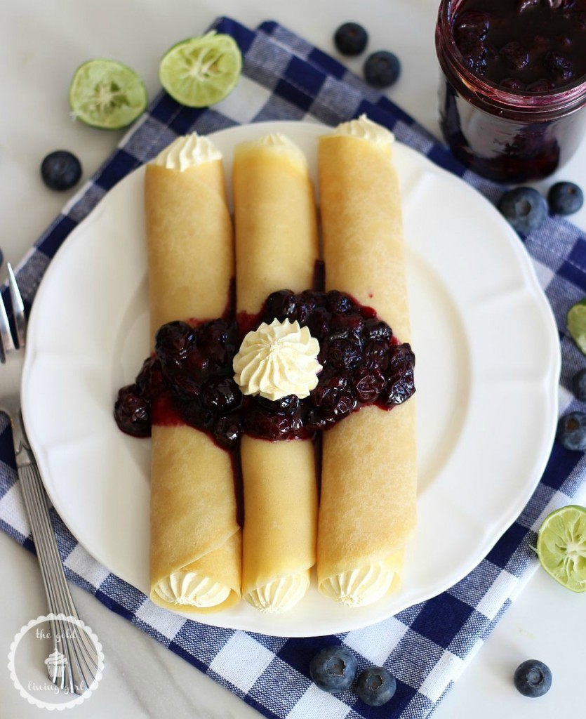 crepes with key lime custard and blueberry sauce 3 pin