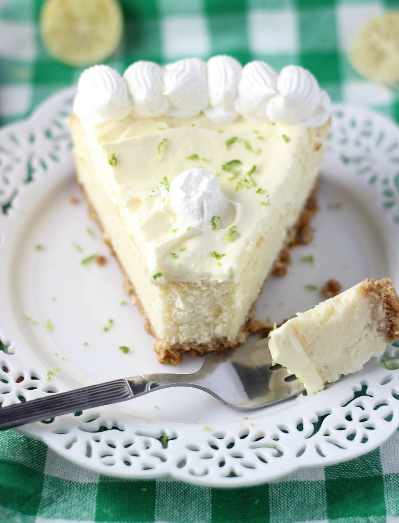 key lime cheesecake with pretzel crust 14