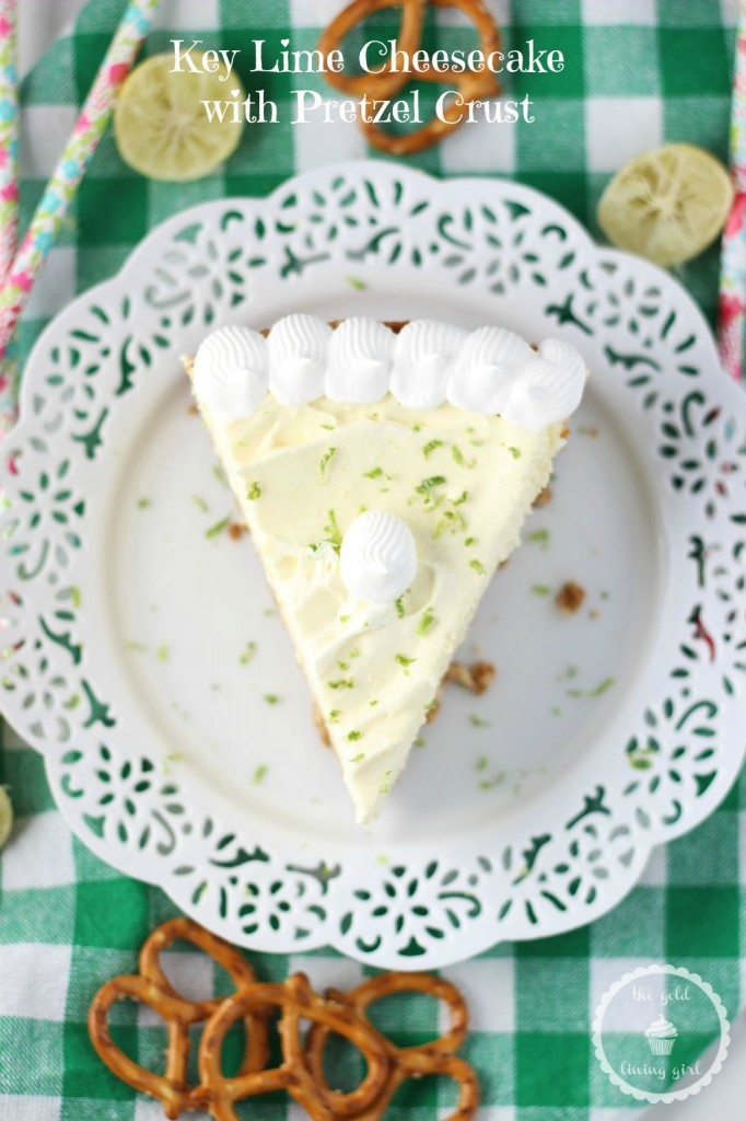 key lime cheesecake with pretzel crust 7 pin