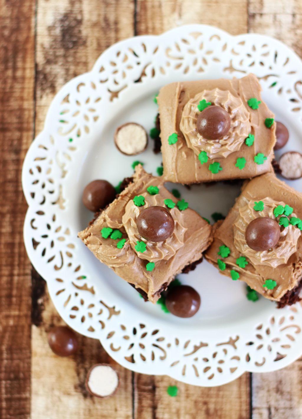Malted Bailey S Irish Cream Brownies