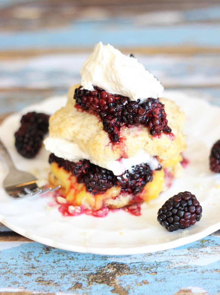 blackberry lemon curd shortcakes 19
