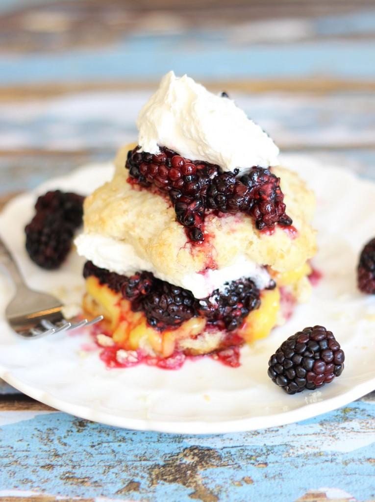 blackberry lemon curd shortcakes 19