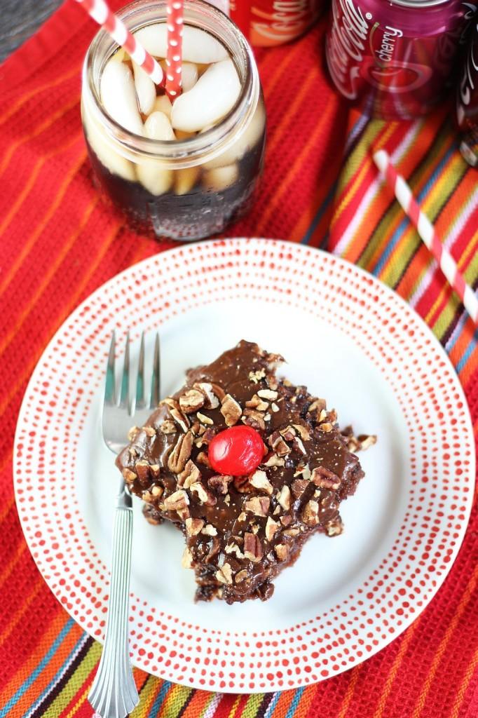 cherry coca-cola chocolate cake 12