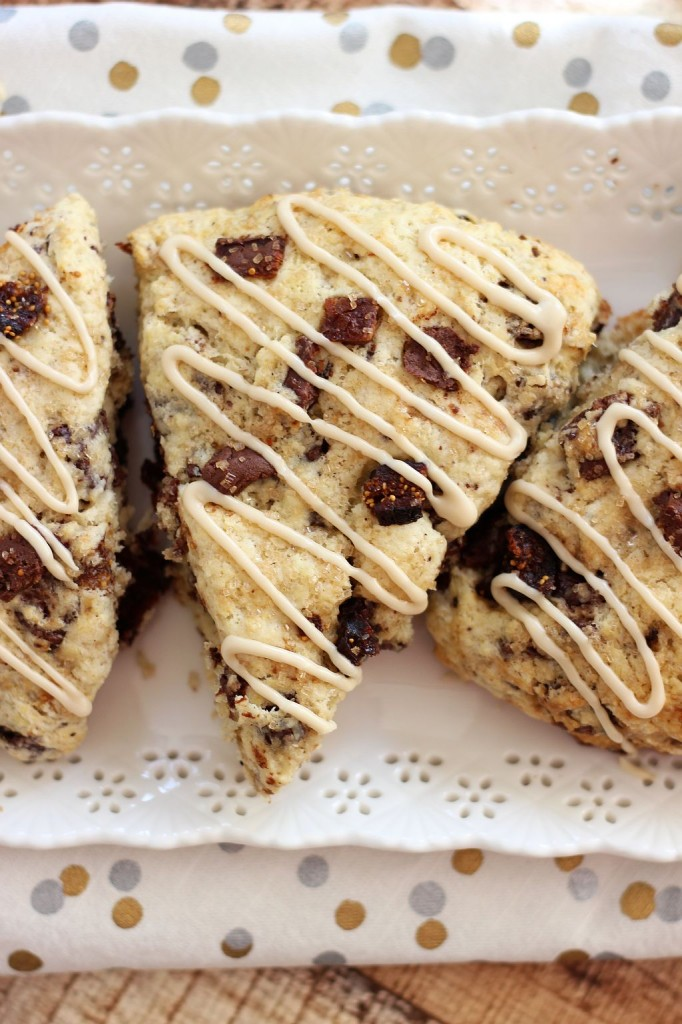 chocolate covered bacon coffee soaked fig espresso bean scones 12