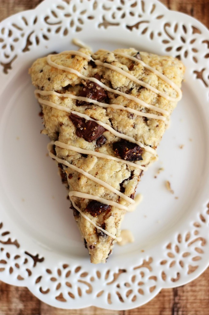 chocolate covered bacon coffee soaked fig espresso bean scones 32