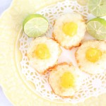 Key Lime Macaroon Thumbprints