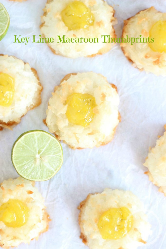 key lime curd macaroon thumbprints 9 pin