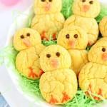 Easter Chicks Lemon Cookies {VIDEO!}