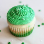 Green Ombre St. Patrick's Day Cupcakes