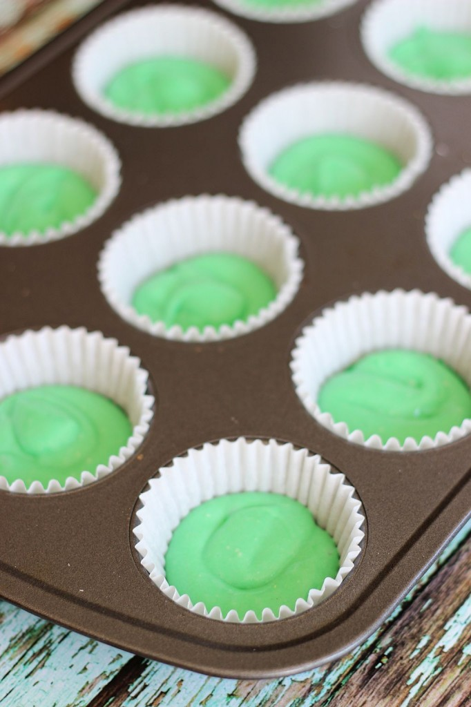 st. patrick's day cupcakes green ombre cupcakes 6