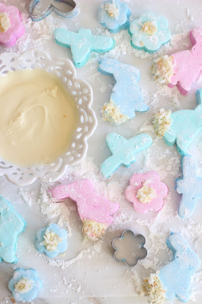 white chocolate dipped coconut marshmallows 19