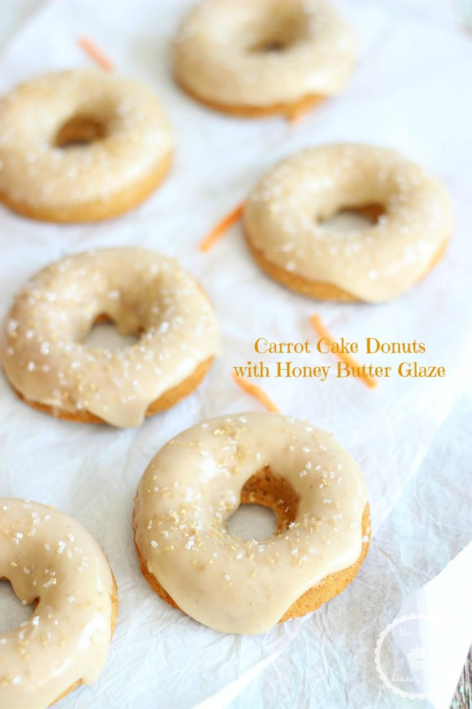 baked carrot cake donuts with honey butter glaze 15 pin