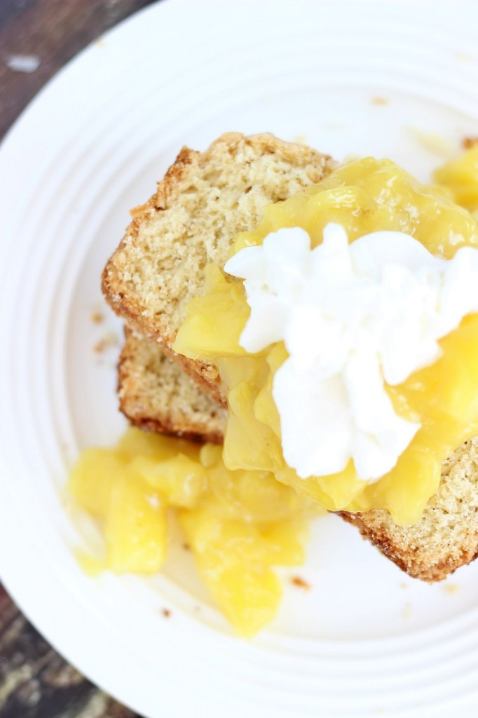 brown butter coconut rum poundcake 17