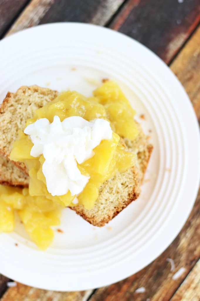 brown butter coconut rum poundcake 18