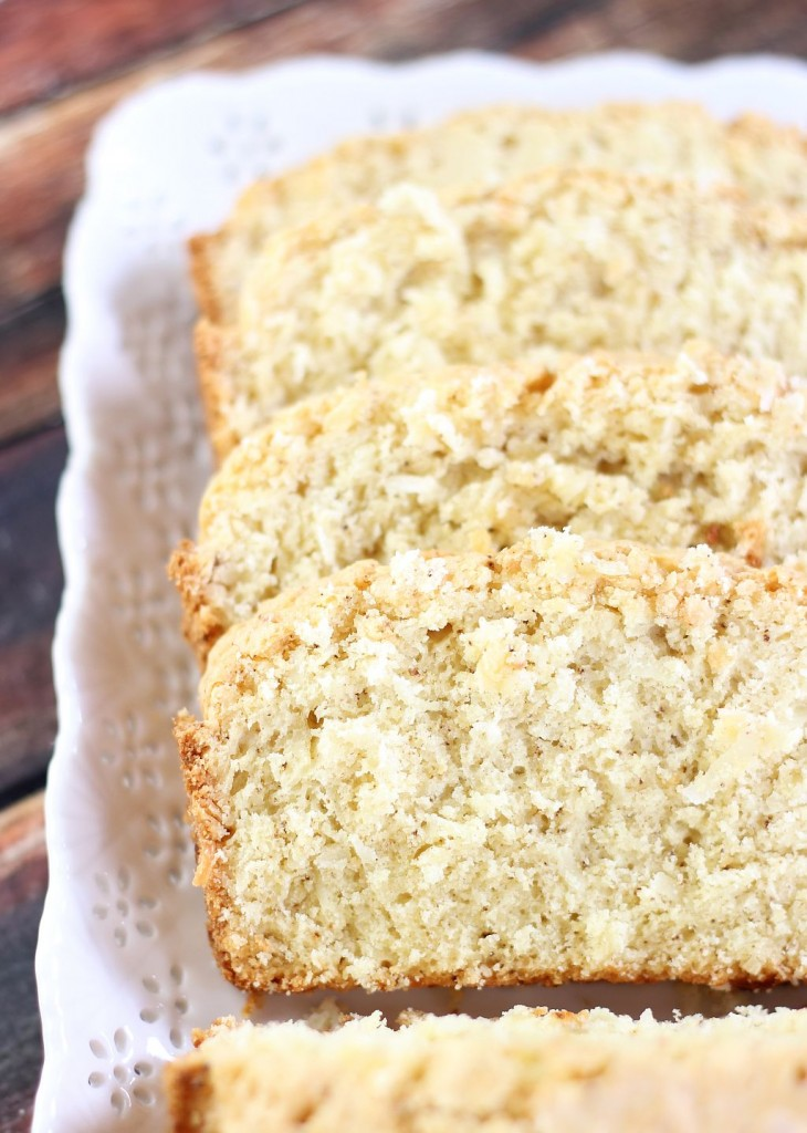 brown butter coconut rum poundcake 9