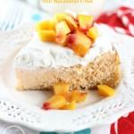 mango peach cheesecake with macadamia shortbread crust 11 pin