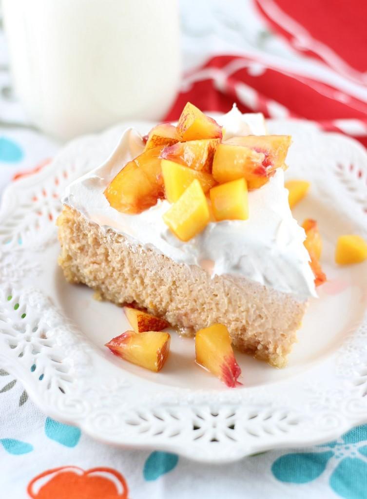 mango peach cheesecake with macadamia shortbread crust 12