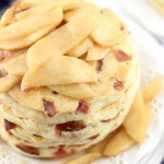 Bacon Pancakes with Caramelized Apples