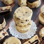 Mini Peanut Butter Oreo Cheesecakes