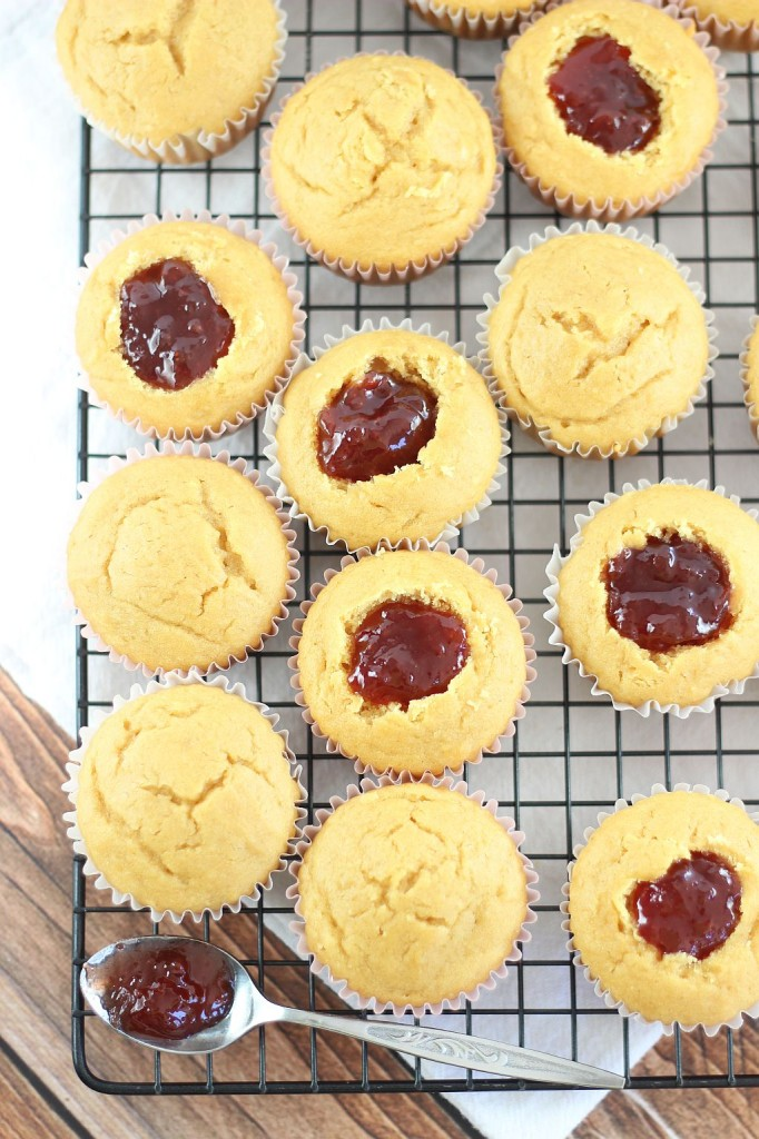 peanut butter & jelly cupcakes 7