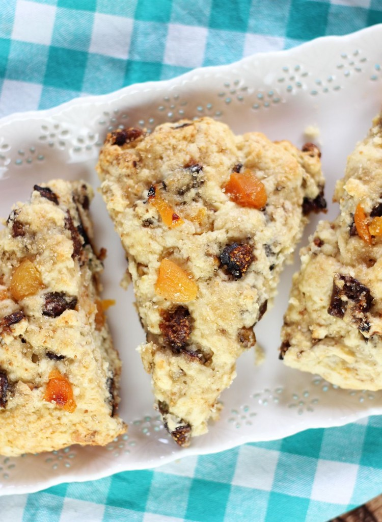candied pistachio apricot and orange fig scones 8