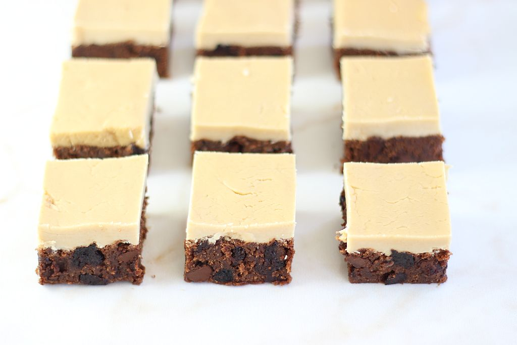 cherry bourbon brown butter brownies with brown sugar bourbon frosting 6