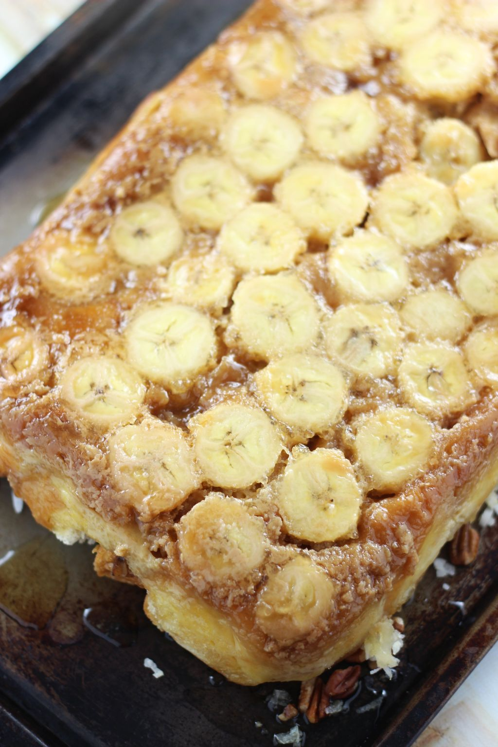 Starting With Sharing This Incredible Coconut Rum Banana Upside Down Croissant  French Toast Casserole The Title… Sorry It's A Mouthful, But I Think All  Of