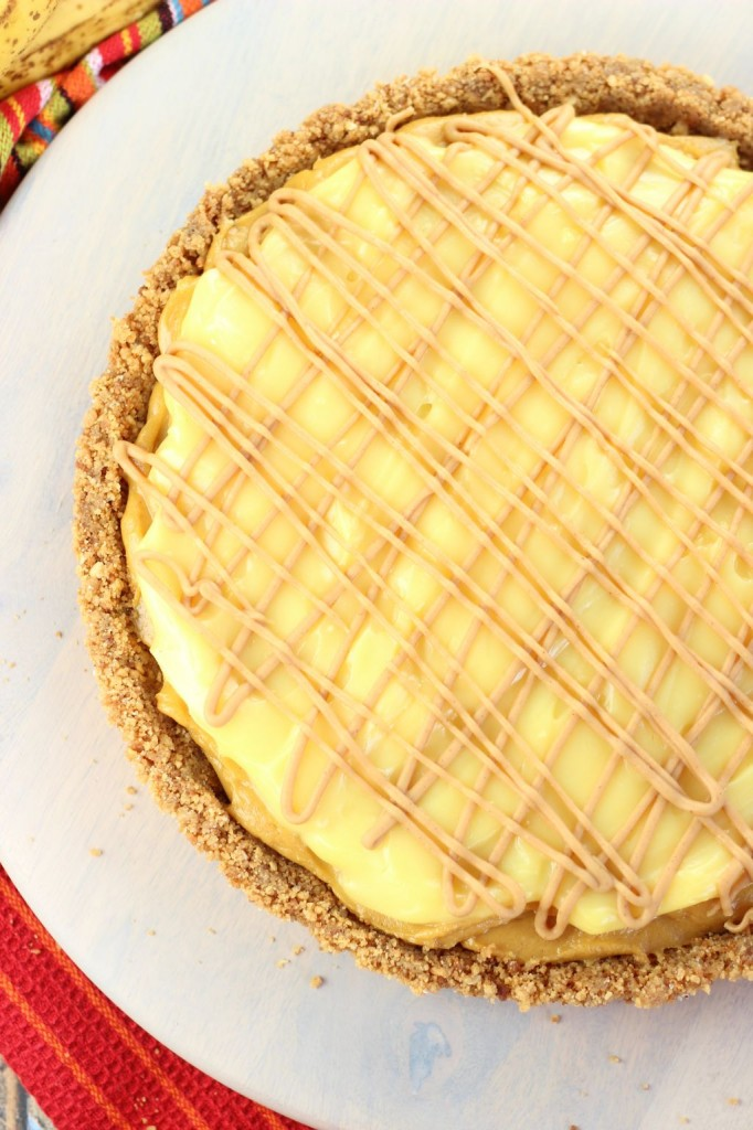 peanut butter banana pudding tart 13
