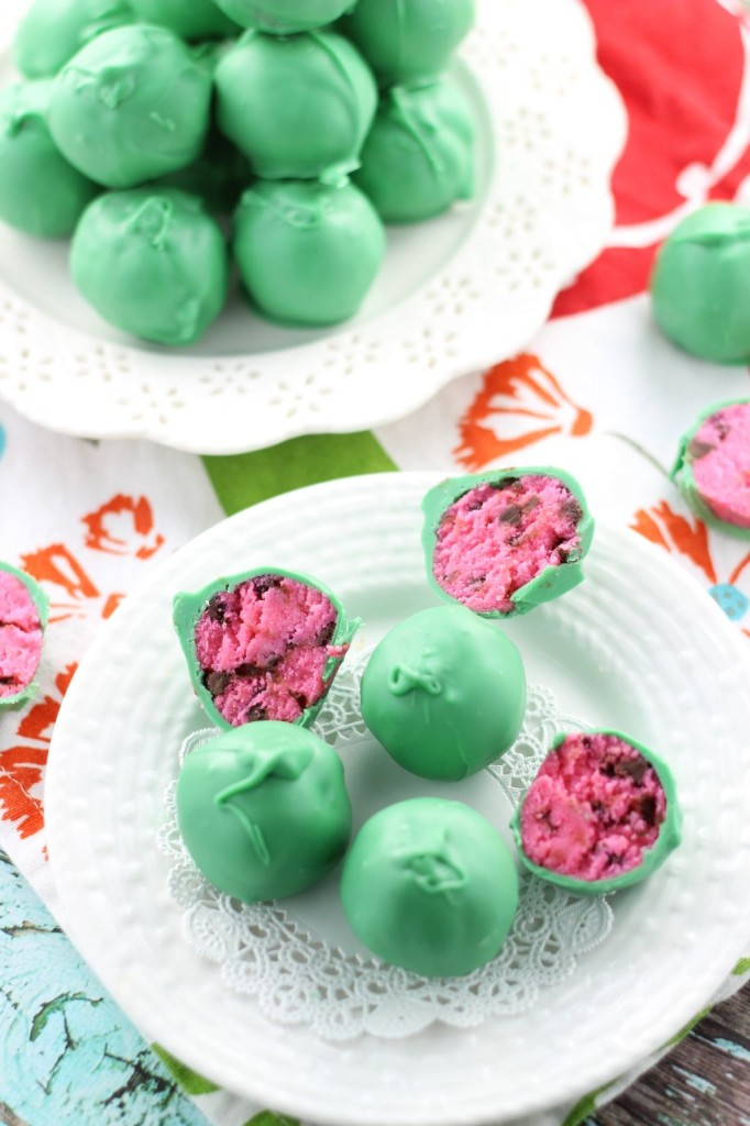 watermelon cake balls 4