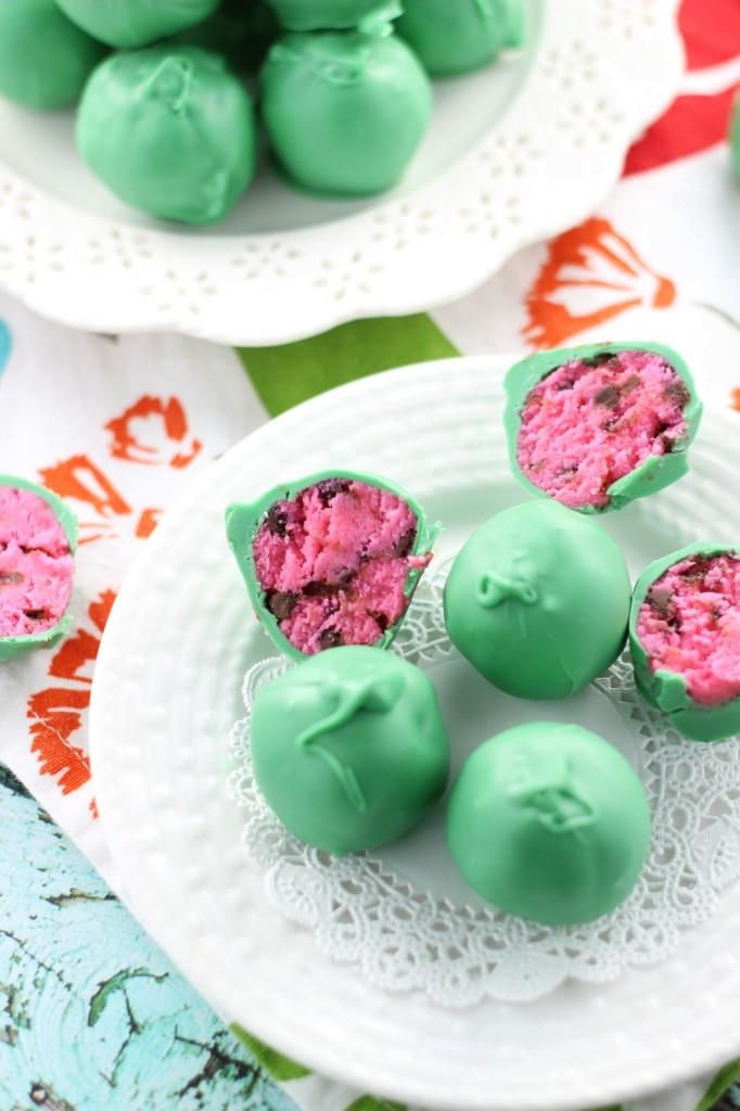 watermelon cake balls 7
