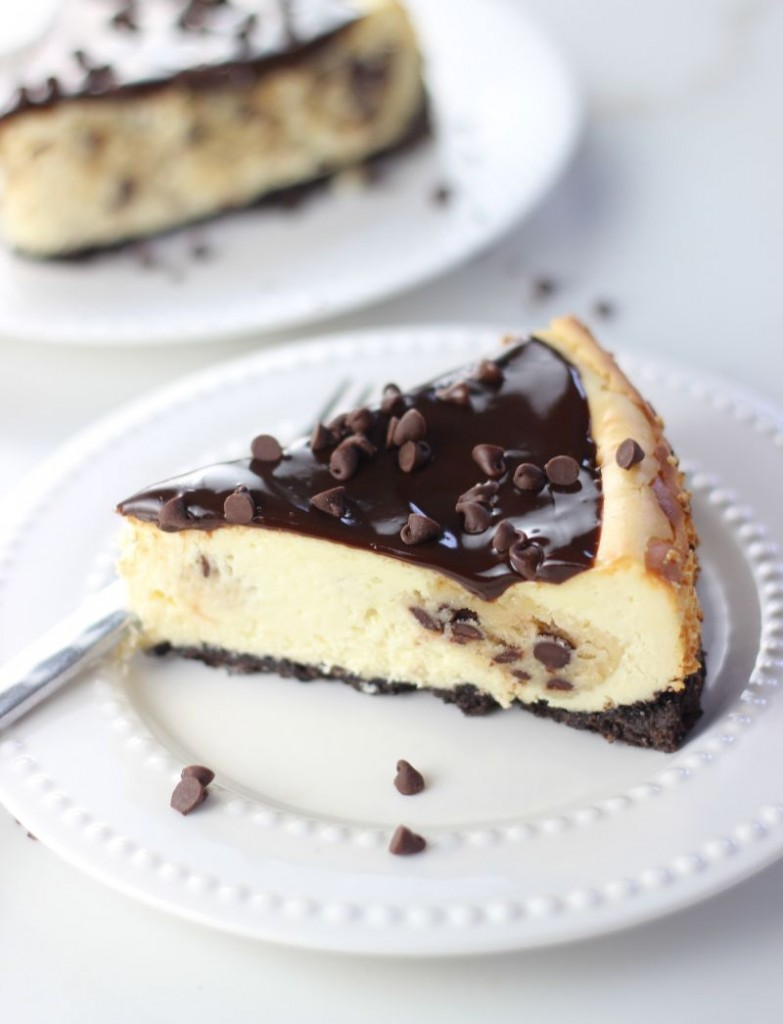 chocolate chip cookie dough cheesecake 11