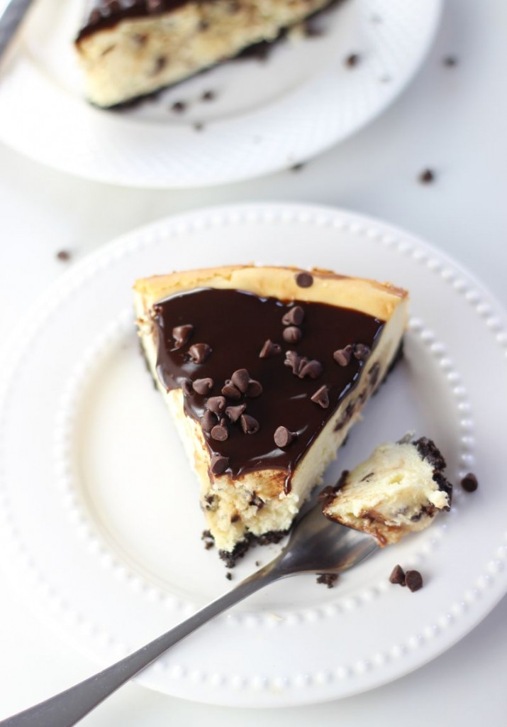 chocolate chip cookie dough cheesecake 15