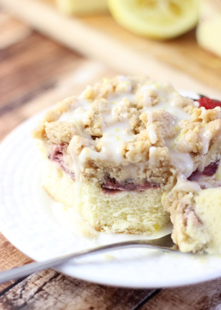 roasted strawberry lemonade crumb coffee cake 28